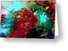 Coral Reef Impression 15 Greeting Card
