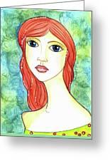 Coralia, The Mermaid Greeting Card