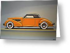 Cord 810 1937 Painting Greeting Card