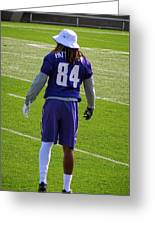 Cordarrelle Patterson Greeting Card