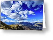 Cordillera Blanca Greeting Card