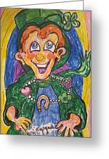 Corey The Lepperchaun Lucky Charms Greeting Card