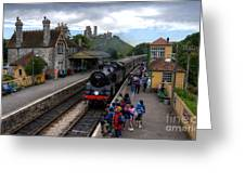 Corfe Castle Station Greeting Card