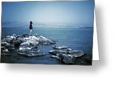 Corfu - Greece Greeting Card by Cambion Art