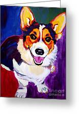 Corgi - Taste The Rainbow Greeting Card