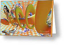 Corkscrew Greeting Card