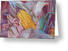 Corn Maize Greeting Card