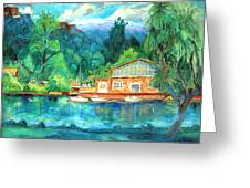 Cornell Boathouse Greeting Card