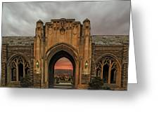 Cornell University Greeting Card by Steven  Michael