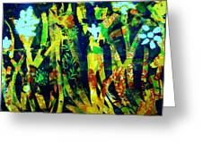 Corner Of The Woods Greeting Card