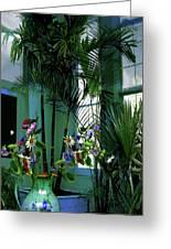 Corner Office, Key West, Fl Greeting Card