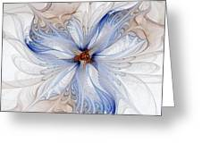 Cornflower Blues Greeting Card
