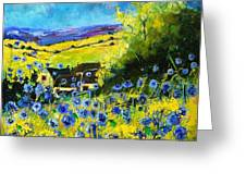 Cornflowers In Ver Greeting Card