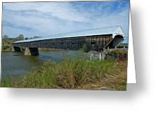 Cornish-windsor Bridge Greeting Card