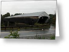 Cornish Windsor Covered Bridge Greeting Card