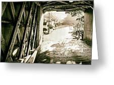 Cornwall Bridge Greeting Card