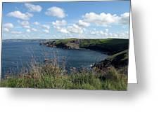 Cornwall Coast 4 Greeting Card