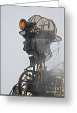 Cornwall Man Engine Greeting Card