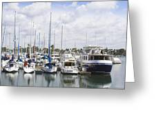 Coronado Boats II Greeting Card