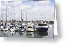 Coronado Boats II Greeting Card