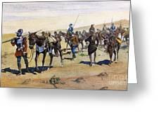 Coronados March, 1540 Greeting Card