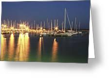Corpus Christi Marina Greeting Card