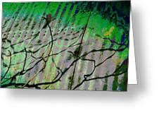 Corregated Shadows Greeting Card