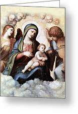 Correggio Painting Greeting Card