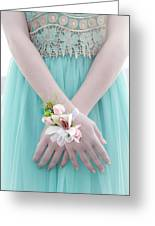 Corsage Greeting Card