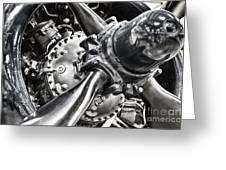 Corsair F4u Engine Greeting Card