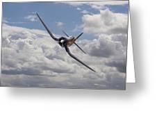 Corsair F4u-n Greeting Card
