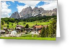 Cortina D'ampezzo, Italy Greeting Card