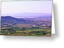 Cortona Tuscany Italy Greeting Card