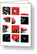 Corvette 1965 Greeting Card
