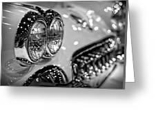 Corvette Bokeh Greeting Card by Gordon Dean II