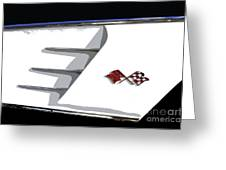 Corvette Colors Greeting Card