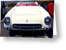 Corvette Convertible Greeting Card