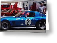 Corvette Grand Sport 1963 Greeting Card
