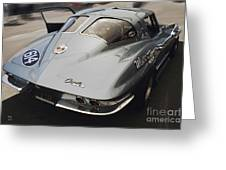Corvette Split Window Greeting Card