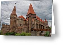 Corvin's Castle Greeting Card by Yair Karelic