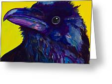 Corvus Greeting Card