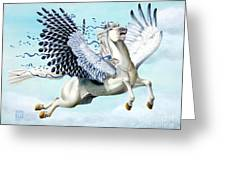 Cory Pegasus Greeting Card