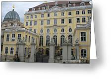 Cosel Palais  -  Dresden -  Germany Greeting Card