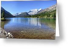 Cosley Lake Outlet - Glacier National Park Greeting Card