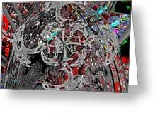 Cosmic Blade  Greeting Card