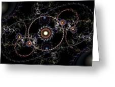 Cosmic Clockworks Greeting Card