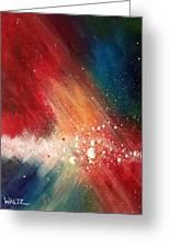 Cosmic Disturbance Greeting Card
