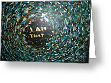 Cosmic Energy Greeting Card