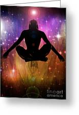 Cosmic Enlightenment... Greeting Card