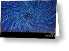 Cosmic Kiss  Greeting Card